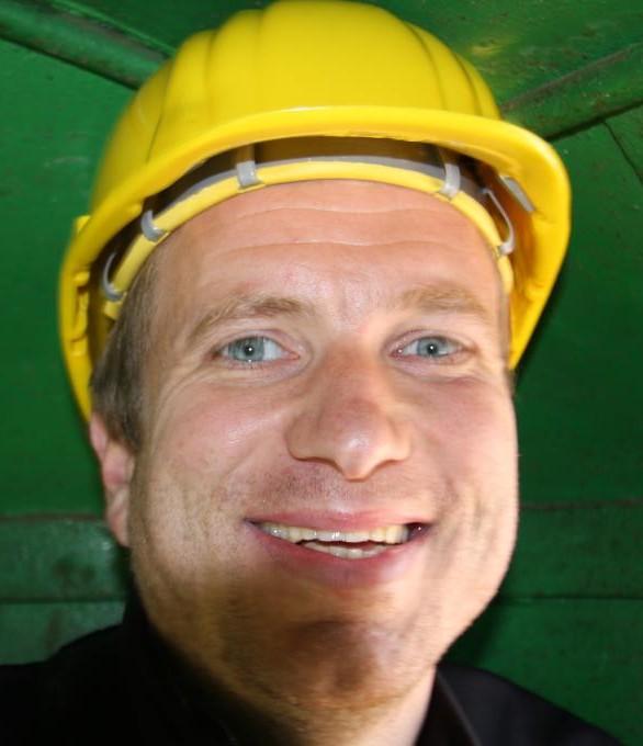 Ich mit Helm (passend zur Webseite)